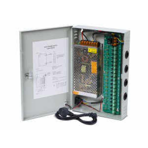 12-Port DC12V-12A-Wall-Mount-Boxed-PSU